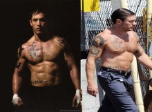 Tom hardy hollywood fisico