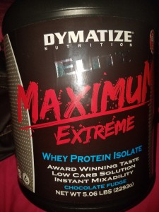 Dymatize proteína barata y falsa maximum extreme