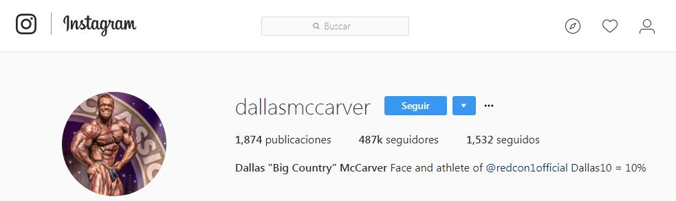 Dallas mcgaver muerte instagram