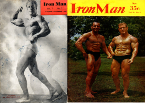 Iron man magazine 1946 vs 1956 esteroides
