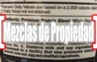 """La estafa de las """"Mezclas de propiedad"""" en la proteína en polvo"""