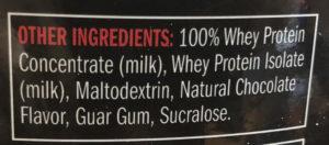 ingredientes proteina usa