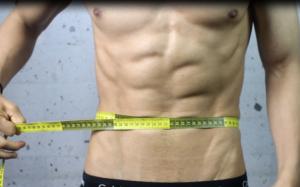 como medir el perimetro abdominal