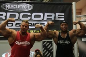 Jay cutler y phil heath muscletech