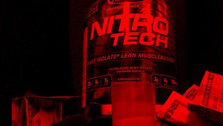 nitrotech de muscletech estafa