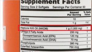 Aceite de Krill Neptuno NKO