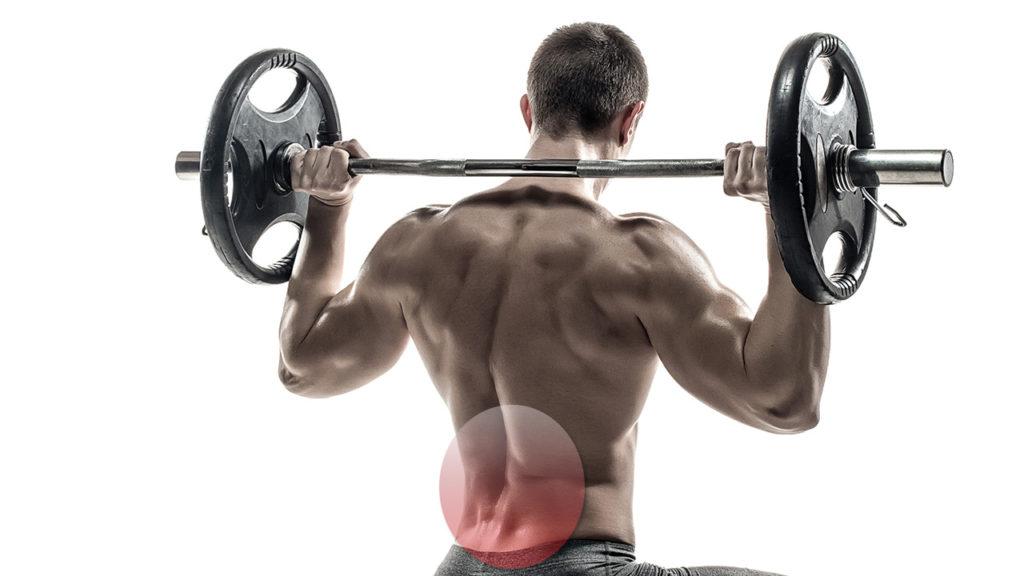 Cómo entrenar piernas con dolor de espalda
