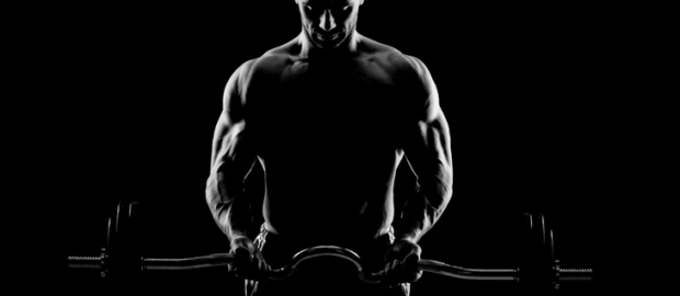 Myo reps curl biceps barra z