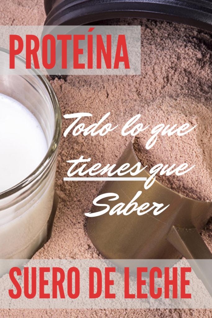 Proteina de suero de leche