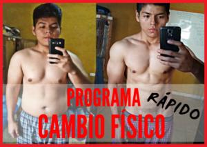 programa cambio fisico realidad fitness