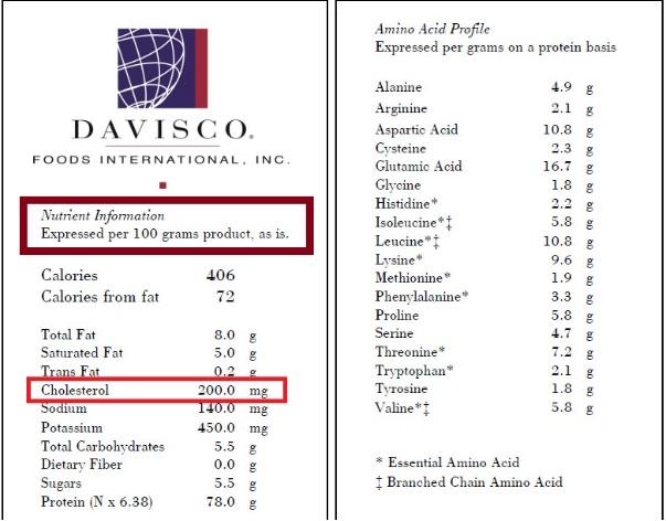 Whey protein concentrada davisco