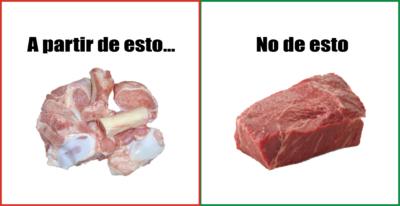 proteina de carne verdad