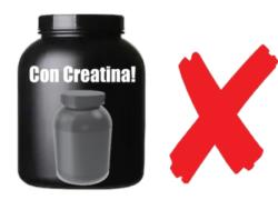 proteina mezclada con creatina