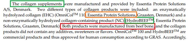 proteina de res es colágeno
