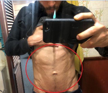 10% de grasa corporal
