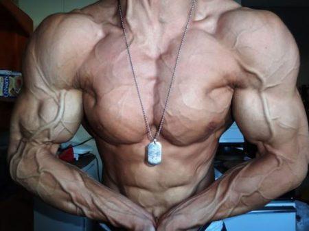 Niveles bajos de grasa corporal hombre