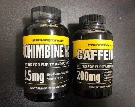 Comprar Yohimbina y cafeina