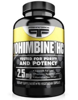 yohimbina hcl en capsulas