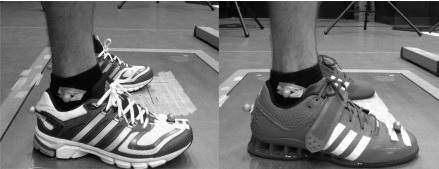 zapatillas de correr vs halterofilia