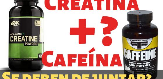 Creatina y cafeina