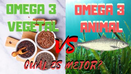 Omega 3 Vegetal o Animal