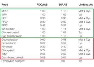 proteina vegetal vs animal calidad a
