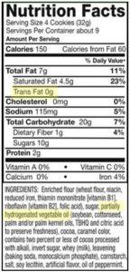 aceite vegetal hidrogenado etiqueta