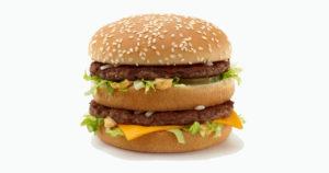 big mac altas calorias