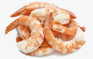 camarones proteina