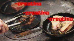 cocinar creatina