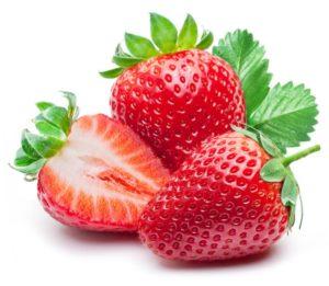 fresas azucar