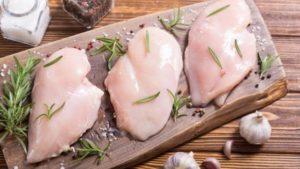 ganar masa muscular pollo