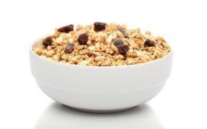 granola alta en calorias