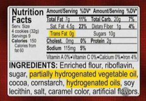 grasas hidrogenadas en alimentos