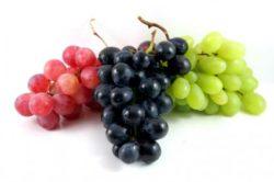 la uva tiene muchas calorias