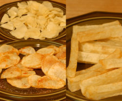 papas fritas son saludables