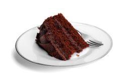 pastel de chocolate alto en calorias