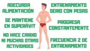 un cuerpo ectomorfo puede ser musculoso