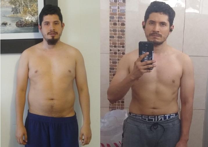 cuerpo gordoflaco transformacion