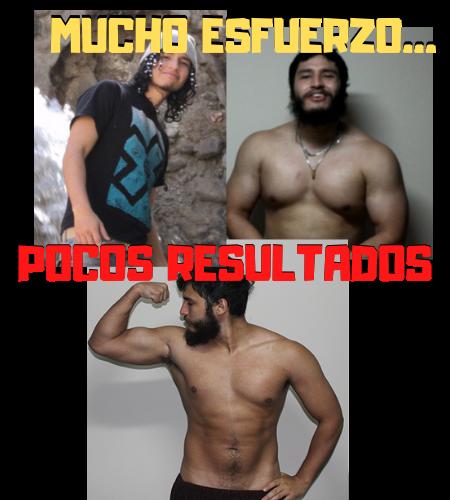 pocos resultados fitness