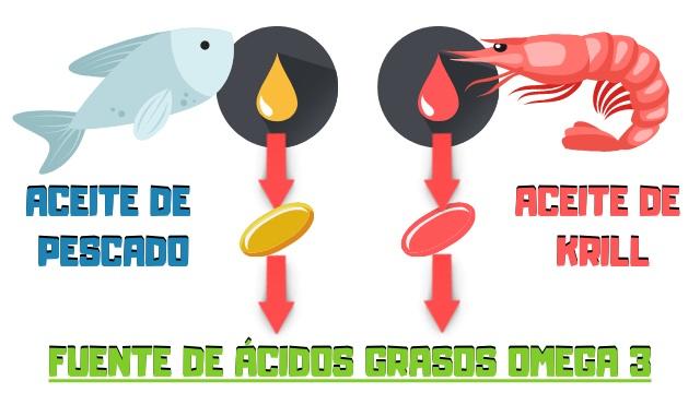 aceite de krill vs omega 3